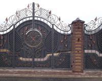 Эксклюзивные ворота под заказ