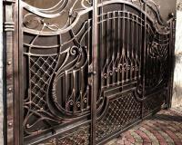 Ворота кованые под заказ в Воронеже