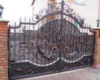 Кованые ворота на заказ в Воронеже