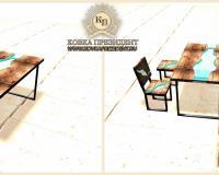 Дизайнерские столы, столешницы