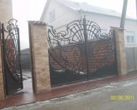 Кованые ворота в Воронеже