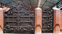 Ворота кованые фото и цены
