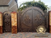 Ворота кованые Воронеж цена купить недорого