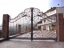 Ворота кованые Воронеж цена купить